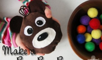 Make a Boo-Boo Bear – A Rice Ice and Heat Pack