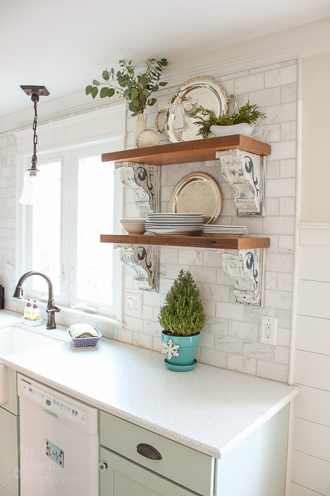 Holiday Home Tour Kitchen Pretty Handy Girl