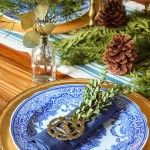 Holiday Woodland Tablescape 2015 | Pretty Handy Girl