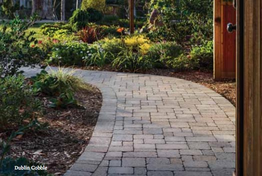 Belgard Dublin Cobble - Backyard Landscaping Plans | Pretty Handy Girl