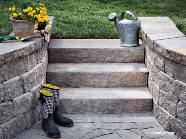 Granika Steps   Backyard Landscaping Plans | Pretty Handy Girl