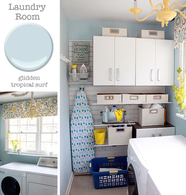 laundry room paint ideasPaint Colors in My Home  Pretty Handy Girl