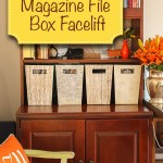 Magazine File Box Facelift