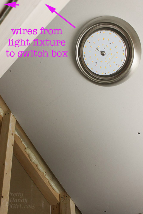 How to Add a Switch to a Light Fixture - Pretty Handy Girl