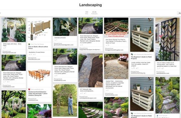 Pinterest Board of Landscaping and Garden Ideas | Pretty Handy Girl