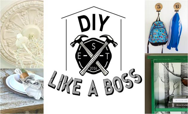 #DIYLikeaBoss Weekly Features