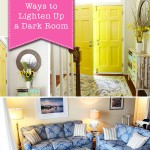 5 Easy Ways to Lighten Up a Dark Room