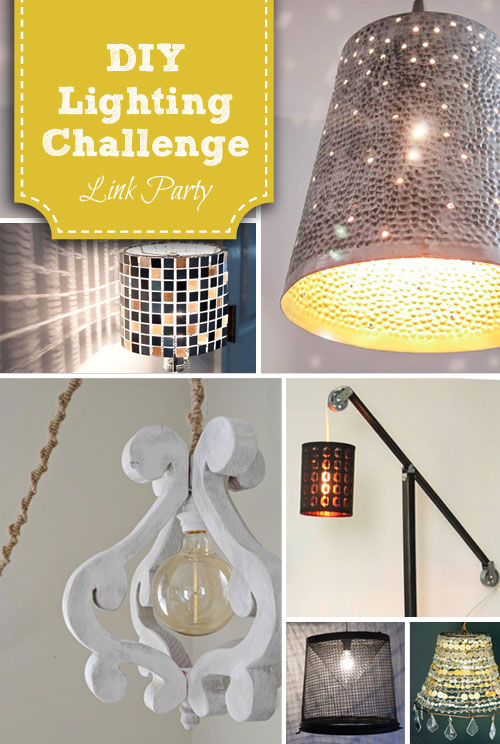 DIY Lighting Challenge Link Up | PrettyHandyGirl