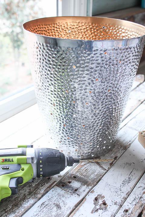 DIY Twinkling Light Pendant |Pretty Handy Girl
