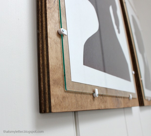 diy plywood frame with glass pretty handy girl. Black Bedroom Furniture Sets. Home Design Ideas