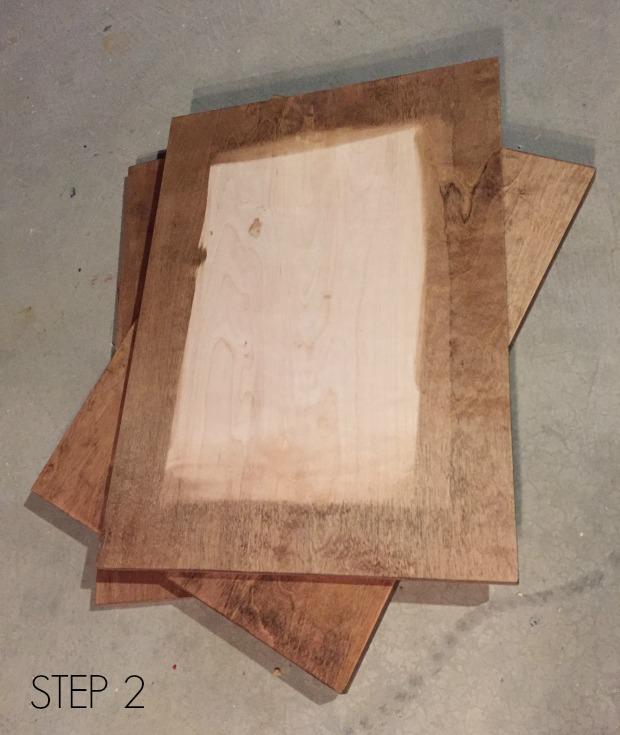plywood frame step 2