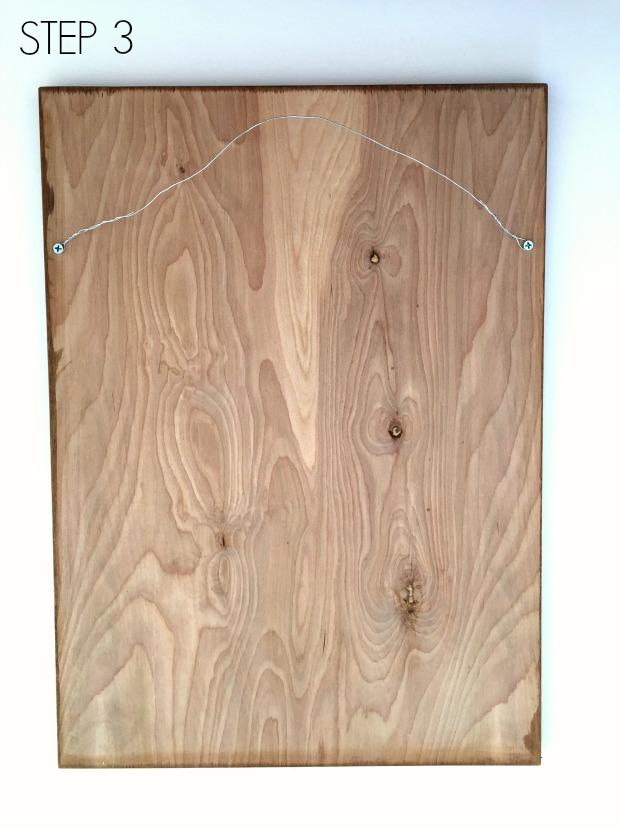 plywood frame step 3