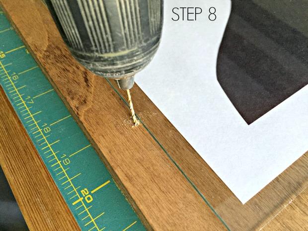 plywood frame step 8