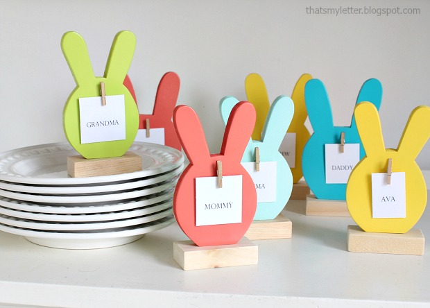 bunny place cards 5