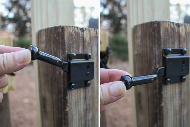 Add Decorative And Functional Hardware To Your Gate