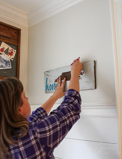 Hanging Art Easily Using Hang O Matic Pretty Handy Girl