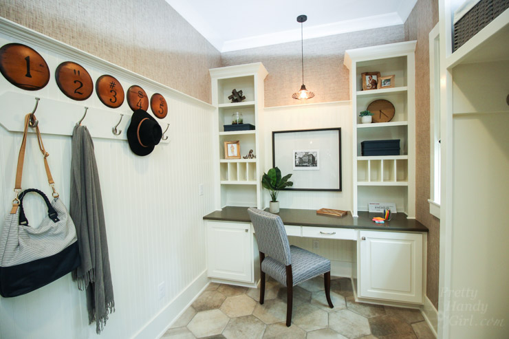 2016 hgtv smart home tour in raleigh nc pretty handy girl for Mudroom pantry