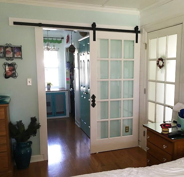 Repurposed 4 Life - Glass Barn Door | DIY Like a Boss Feature