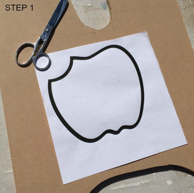 apple pencil holder step 1
