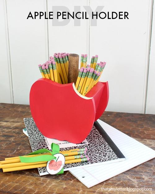 apple pencil holder title