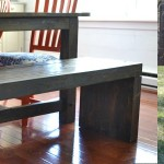 DIY Indoor/Outdoor Dining Bench