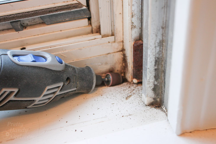 How to Fix Small Areas of Wood Rot   Pretty Handy Girl