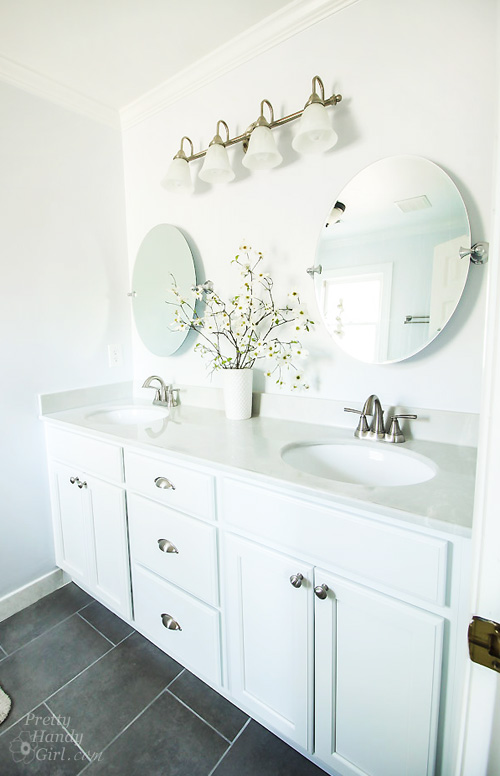 how to frame an oval bathroom mirror how to hang a frameless oval mirror pretty handy 26094
