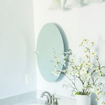 How to Hang a Frameless Oval Mirror