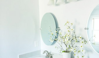 How to Hang a Frameless Oval Mirror on the Wall | Pretty Handy Girl