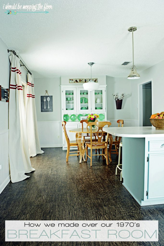 I Should Be Mopping the Floor - Breakfast Room Makeover | DIY Like a Boss Feature