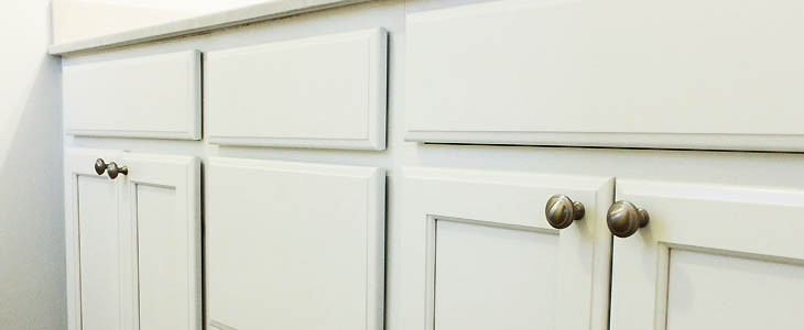 How To Install Knobs On New Cabinet Doors And Drawers Pretty Handy Girl