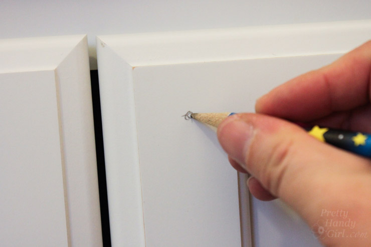 How to Install Knobs on New Cabinet Doors and Drawers - Pretty ...