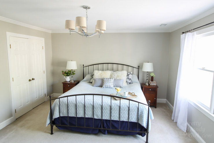 Getting Ready to Sell Your Home? Create a Luxurious Master Bedroom to Woo Buyers (without spending big bucks) | Pretty Handy Girl