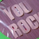 You Rock 3-D Card