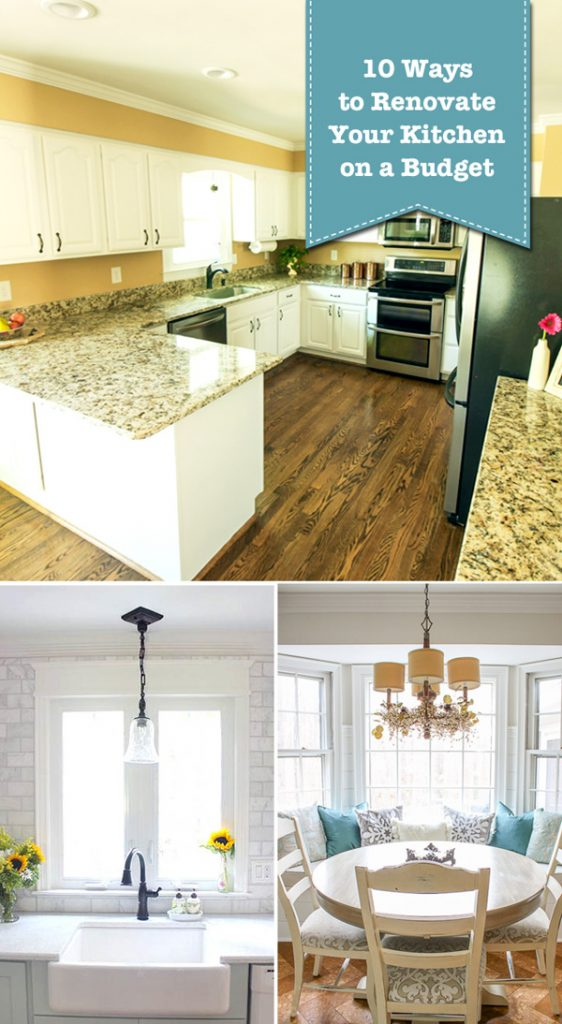 10 ways to renovate your kitchen on a budget pretty for Renovating a kitchen on a budget