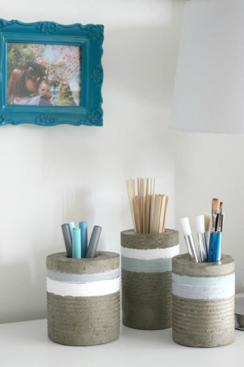 Concrete Vases for PHG