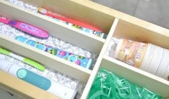 DIY Drawer Organizer   Pretty Handy Girl   Storage and Organization