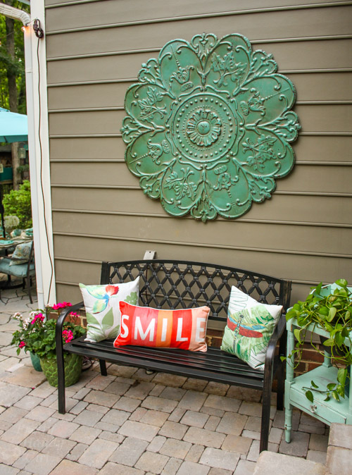 Decorating With Pillows decorating ideas for an outdoor garden party - pretty handy girl