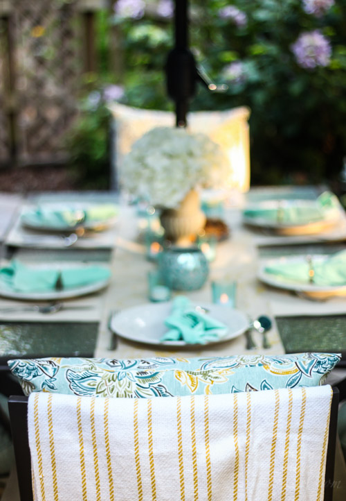 Outdoor Garden Patio Party Decorating Ideas | Pretty Handy Girl