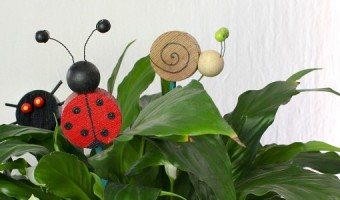 Cute Critter Plant Stakes