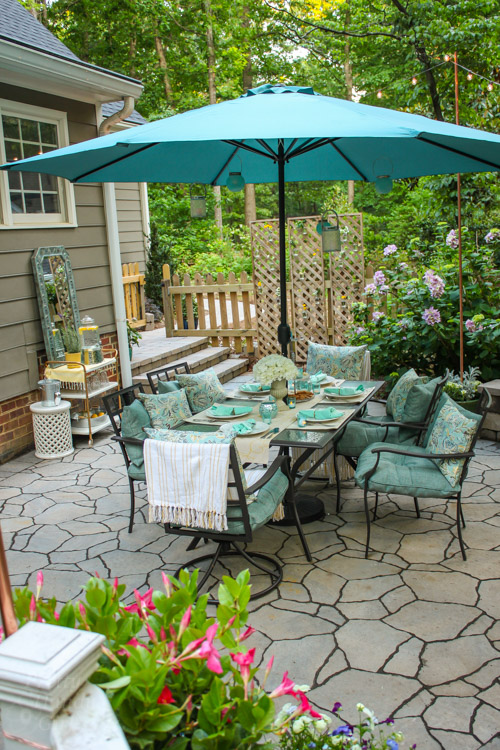 Decorating A Patio decorating ideas for an outdoor garden party - pretty handy girl