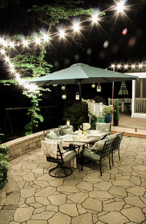 Perfect Outdoor Garden Patio Party Decorating Ideas Pretty Handy Girl
