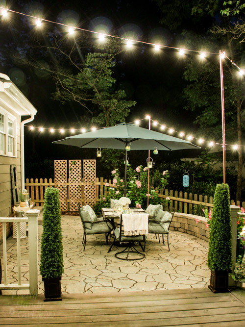 Decorating Ideas For An Outdoor Garden Party Pretty Handy Girl