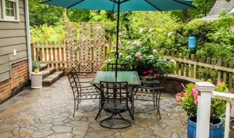Backyard Patio Reveal | Pretty Handy Girl