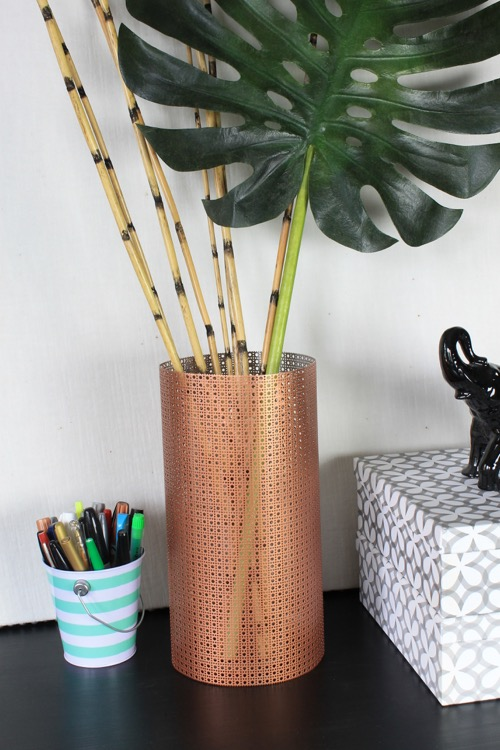 DIY Sheet Metal Vase