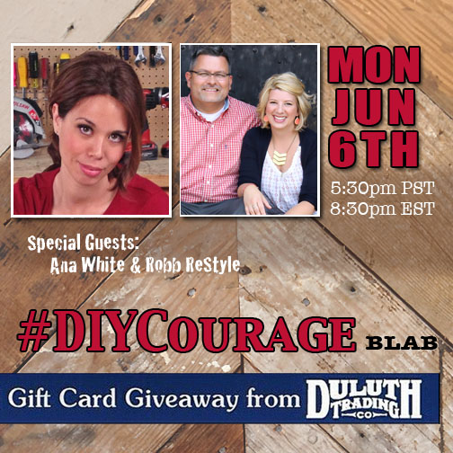 DIY Courage with Ana White