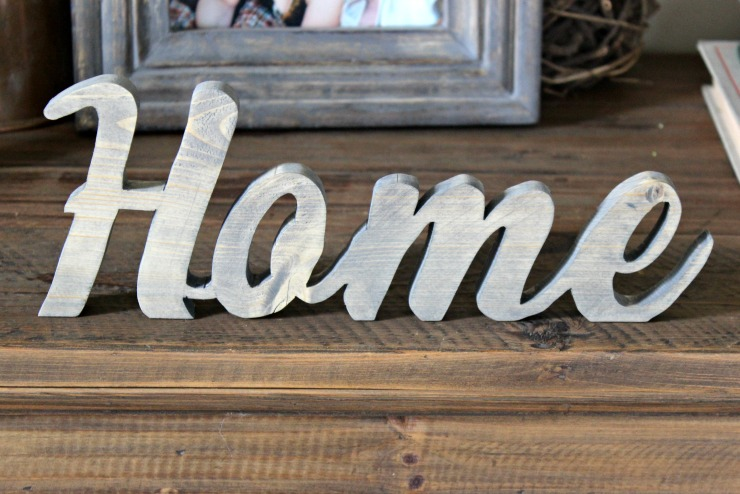 Rustic Home Sign Pretty Handy Girl