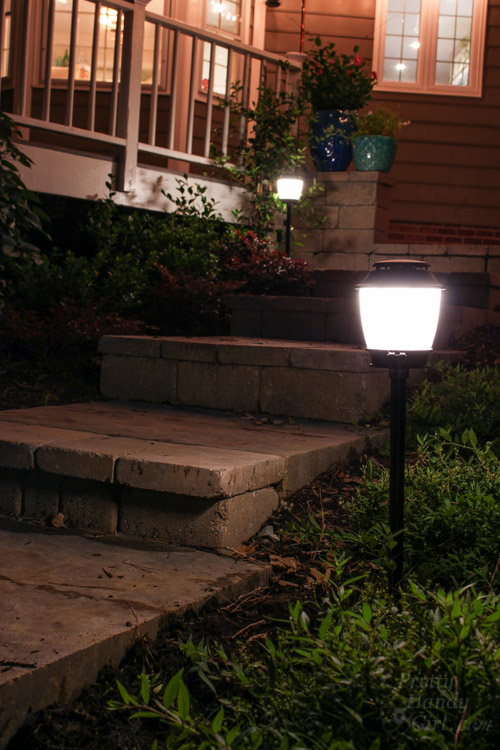 How to Install Landscape Lights and Repel Mosquitoes
