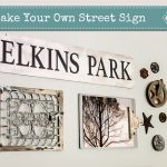 Make Your Own Street Sign | Pretty Handy Girl