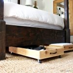 DIY Cedar Underbed Storage